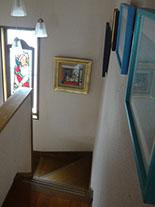 コレクションの一部 自宅 階段に展示